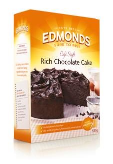Edmonds Rich Chocolate Cake Recipe
