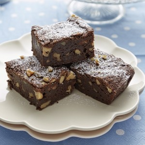 Gluten Free Choc Walnut Brownies