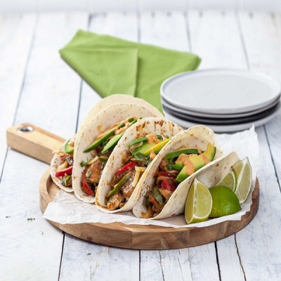 Smokey Chicken Fajitas with Sundried Tomato Mayo