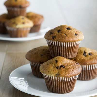 Banana & Chocolate Chip Muffins